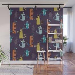 Secretly Vegetarian Monsters Wall Mural