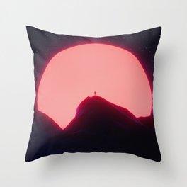 New Sun Throw Pillow
