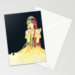 Princess Apple Stationery Cards