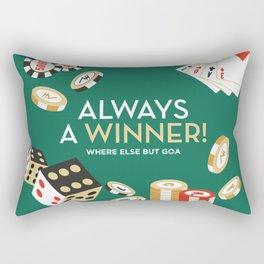 Always a winner! Rectangular Pillow