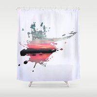 storm Shower Curtains featuring Storm by Last Call