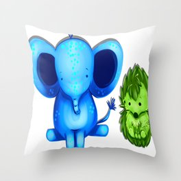 Nuggets! Throw Pillow