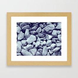 On The Rocks II Framed Art Print