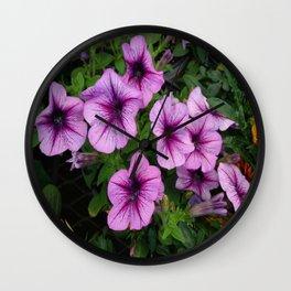 Purple Mum Wall Clock