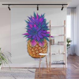 Cool Cannabis Pineapple Wall Mural