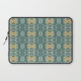Copper Turquoise Southwestern Kaleidoscope Bold Pattern | Corbin Henry Laptop Sleeve