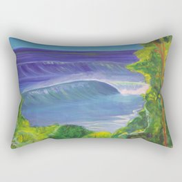 deep_water art Rectangular Pillow