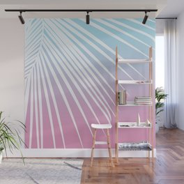 Pastel Palm 02 Wall Mural