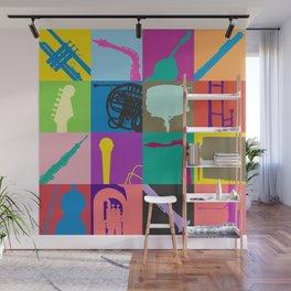 Pop Music Art Wall Mural