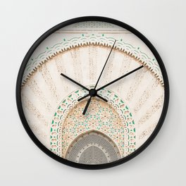 Morocco I Wall Clock