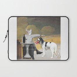 The Difference Between Cats and Dogs II Laptop Sleeve