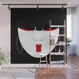 Modern Geisha #2 Wall Mural
