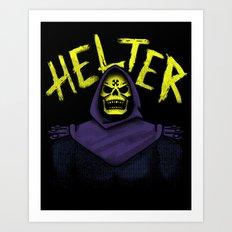 Helter Skeletor Art Print