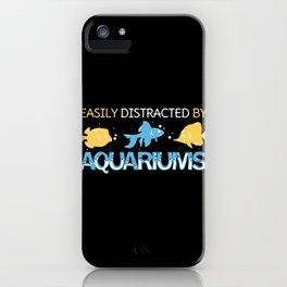 Aquarium - Fish Lover Gift iPhone Case