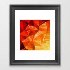 Tricolor Framed Art Print