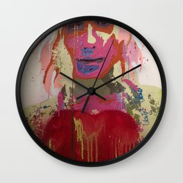Scarlett Tear Wall Clock