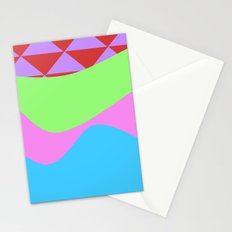 Tribal Waves Stationery Cards
