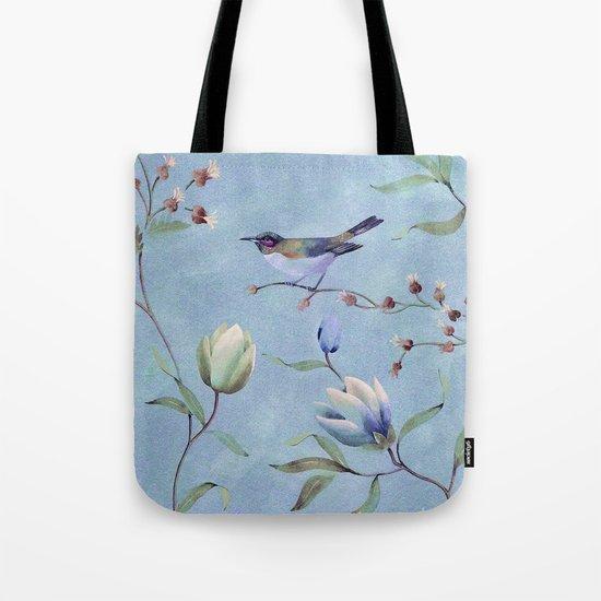 Summer bird Tote Bag