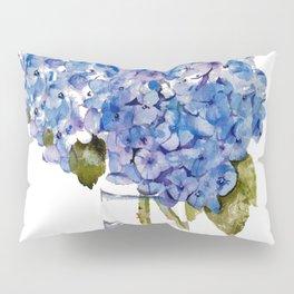 Cape Cod Hydrangea Large Canvas Pillow Sham