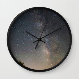 South Lake Tahoe Milky Way Wall Clock