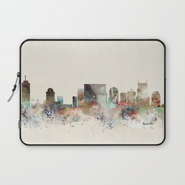 nashville city skyline Laptop Sleeve