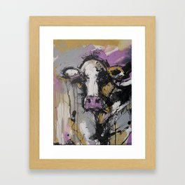 New Breed Cow 1 Framed Art Print
