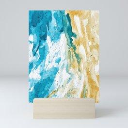 Dynamics Of Ocean Mini Art Print
