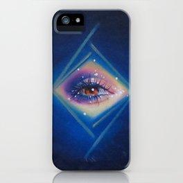 Diamonds in her eyes iPhone Case