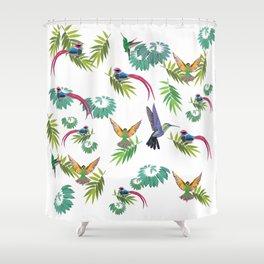 Birds Heaven Shower Curtain