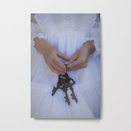 Three Keys II Metal Print