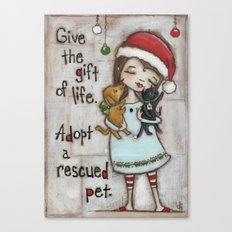 The Gift of Life - by stuDIo DUDA art Canvas Print
