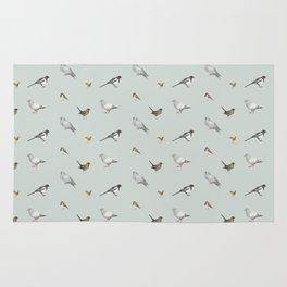 Garden birds Rug