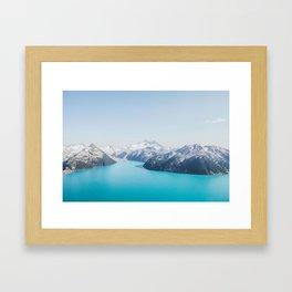 Garibaldi Lake Framed Art Print