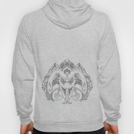 Forked Face Hoody