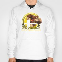 donkey kong Hoodies featuring Donkey Kong - Super Smash Bros. by Donkey Inferno