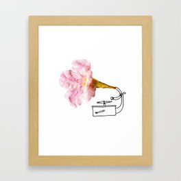 Victroflower Framed Art Print