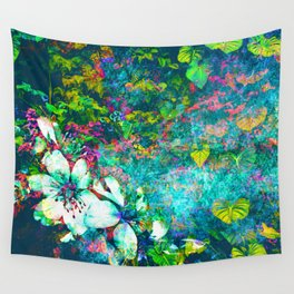 Bright Stone Garden Wall Tapestry