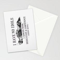I Have No Idols - Senna Quote Stationery Cards