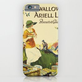swallow & ariell ltd. circa 1930s  oude poster iPhone Case