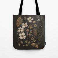 Tote Bags featuring Nature Walks by Jessica Roux