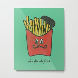 French Fries Metal Print