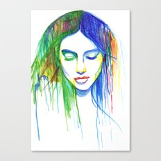Sadness is a Blessing Canvas Print