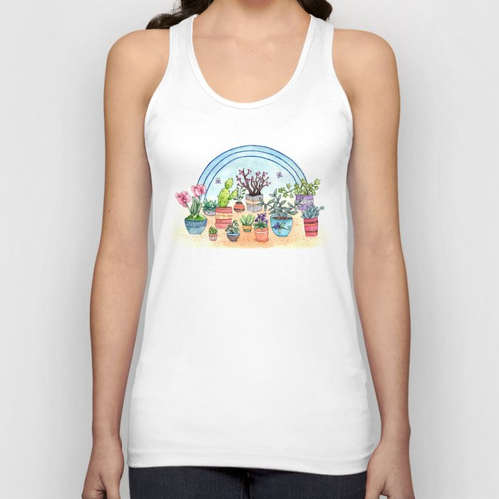 Household Plants Unisex Tank Top