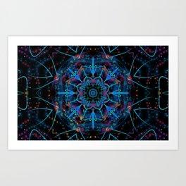 Petal Magic Art Print