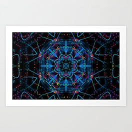 Petal Magic Art Print