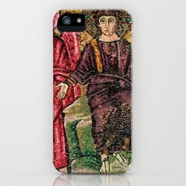 Judgement Day of the Sheep and the Goats Mosiac Basilica of Saint Apollinare Nuovo, Ravenna, Italy iPhone Case