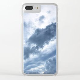 Troubled Skies Clear iPhone Case