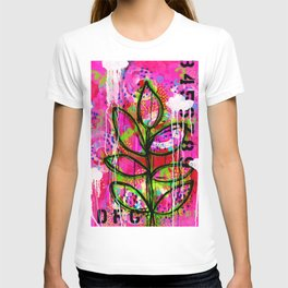 Leaves painting - Abstract T-shirt