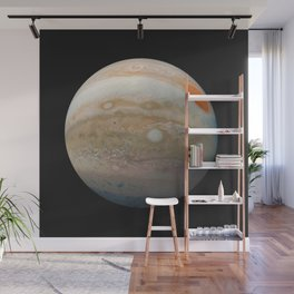 Jupiter Marble from Junocam Wall Mural