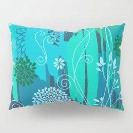 Boho Floral Pattern Var. 8 Pillow Sham